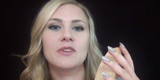 Frau heilt mit ihrer Stimme auf Youtube