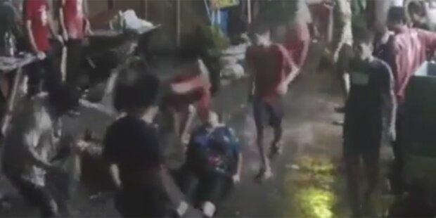Video zeigt brutale Prügel-Attacke auf Touristen