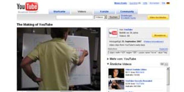 Fernsehsender will 100 Mio. von YouTube