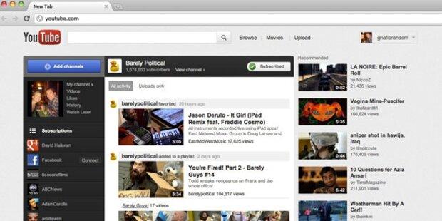 YouTube: Druck für MP3-Rekorder steigt