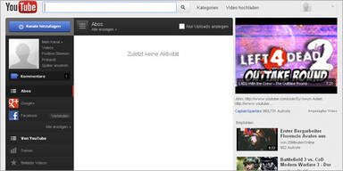 YouTube erstrahlt im völlig neuen Look