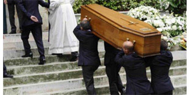 Yves Saint Laurent ist begraben