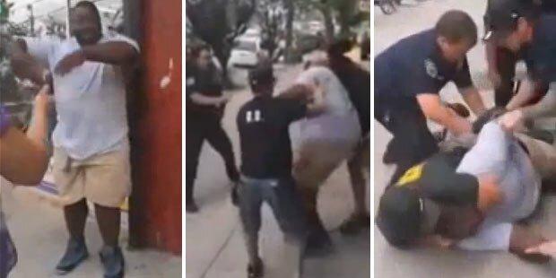 Familienvater von Polizist erwürgt