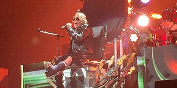 Guns N' Roses als Wien-Hit