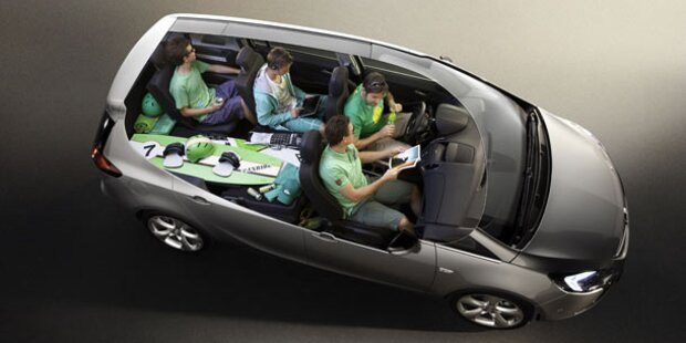 Der Opel Zafira Tourer CDTI im Test