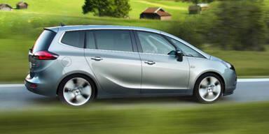 Sparmeister: Opel bringt den 4-Liter-Zafira