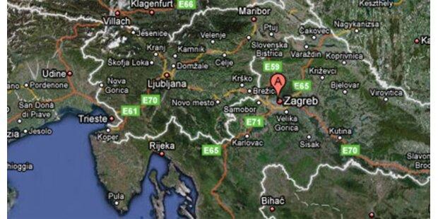 Bankräuber töten Polizisten in Zagreb