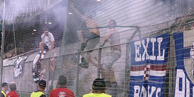 Die Polizei rüstet vor dem Zagreb-Spiel auf