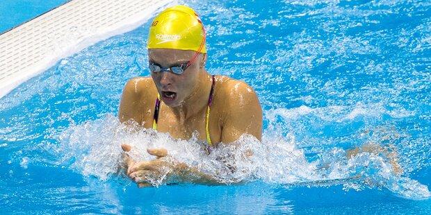 Mit 23: Schwimm-Star Lisa Zaiser tritt zurück