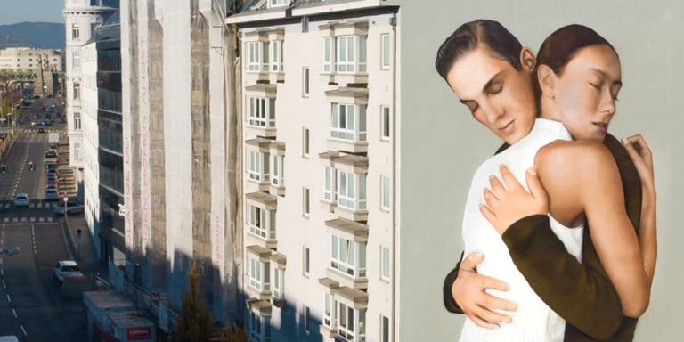 Fassadenkunst in Wien macht Hoffnung