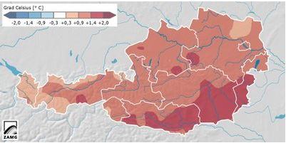ZAMG Temperaturen 2013