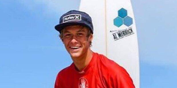 Surf-Wunderkind vom eigenen Brett erschlagen