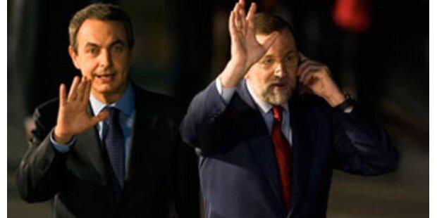 Hartes TV-Duell vor Spanien-Wahl