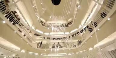 Zara: Eröffnung des weltweit grössten Stores in Rom