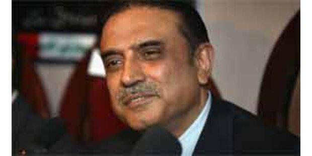 Bhuttos Witwer soll Präsident Pakistans werden
