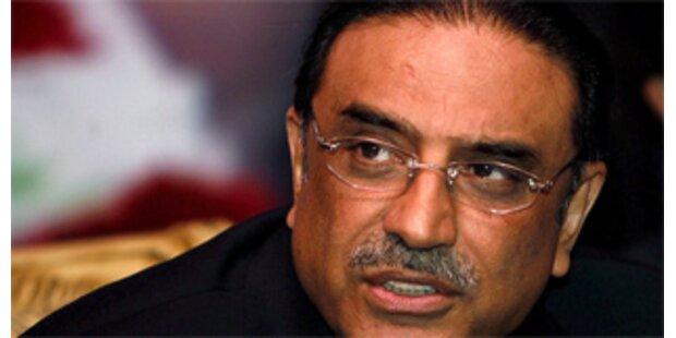 Zardari neuer pakistanischer Präsident