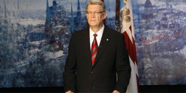 Staatskrise in Lettland droht