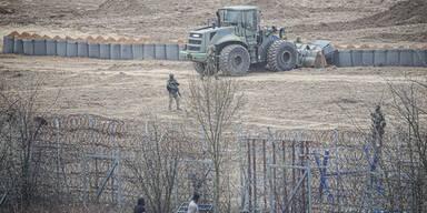 Angst vor neuem Asylsturm: Griechen bauen 2. Grenzwall