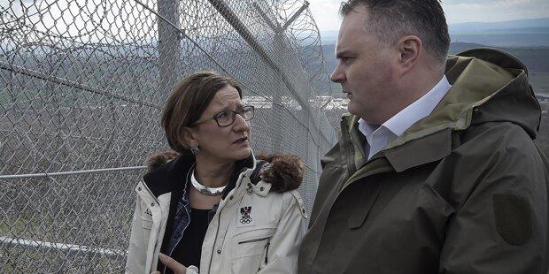 Österreich plant Grenzzaun zu Ungarn