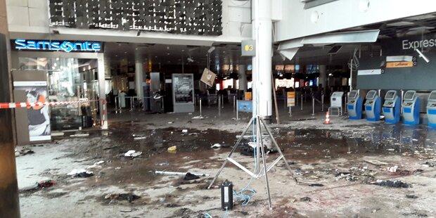Brüssel gedenkt der Opfer der Anschläge