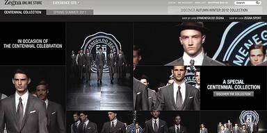 Ermenegildo Zegna eröffnet Online Store
