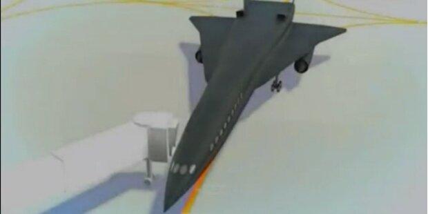 Linien-Überschallflugzeug bald Realität?