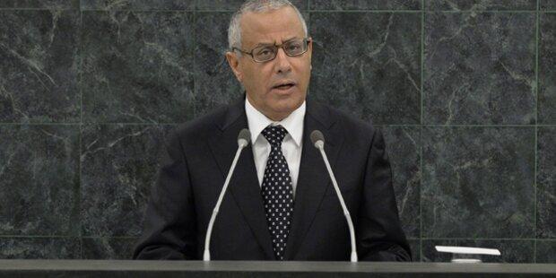 Libyens Premier nach Entführung wieder frei