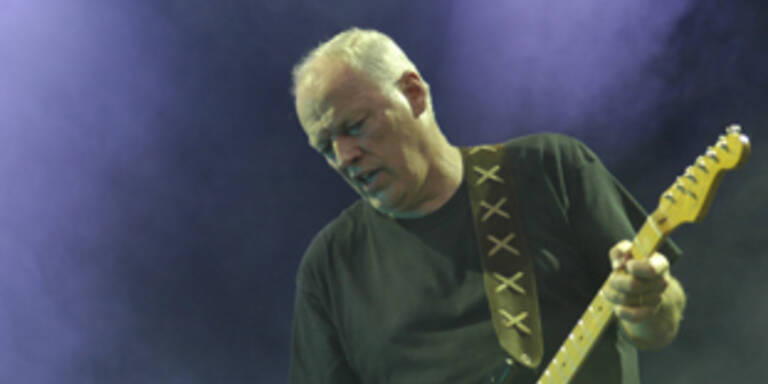 David Gilmour als Floyd-Hit