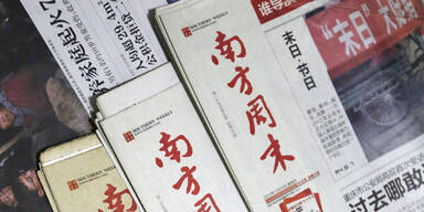 Chinas Staatsmedien verschärfen Ton