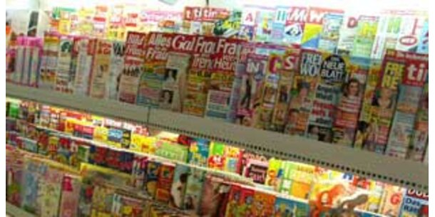 Auflagenrückgang bei deutschen Zeitungen