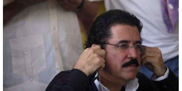 Zelaya verzichtet auf Präsidentenamt