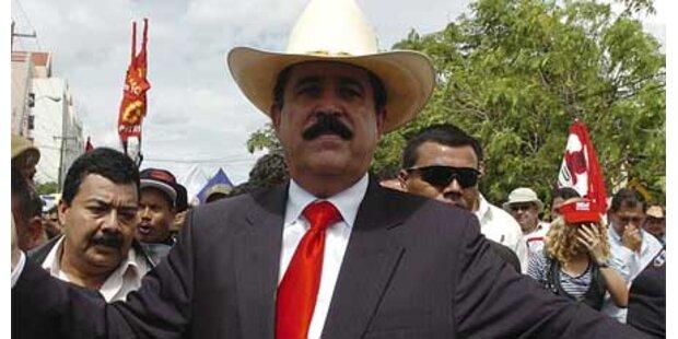 Parlament gegen Zelayas Comeback