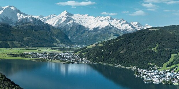 Knappes Rennen in Zell am See