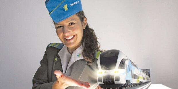 Daniela Zeller ist 'Miss Westbahn'