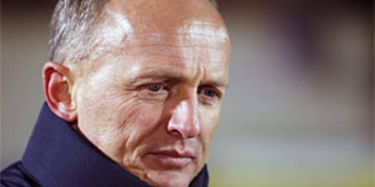 Neo-Ried-Trainer Georg Zellhofer