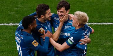 Zenit St. Petersburg feiert Meistertitel