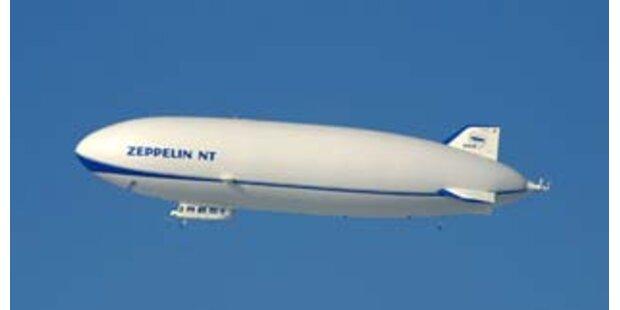 Nach 70 Jahren wieder ein Zeppelin in den USA