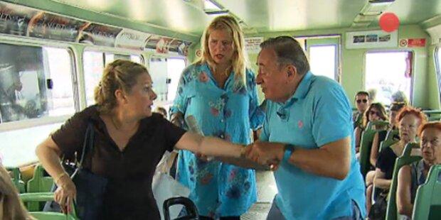 Lugner: Nach Zerr-Attacke von Boot geschmissen