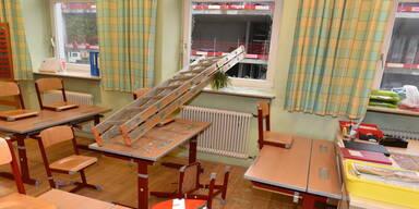 Vandalen wüteten in Volksschule