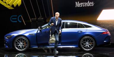 Mercedes-Chef kein Fan von Elektroautos