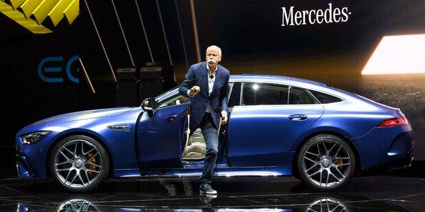 Daimler-Chef Dieter Zetsche hört auf