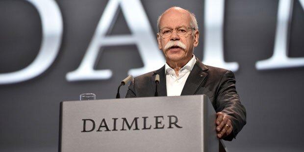 Daimler-Chef Zetsche hört im Mai 2019 auf