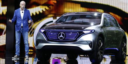Mercedes-Chef kritisiert neue CO2-Ziele