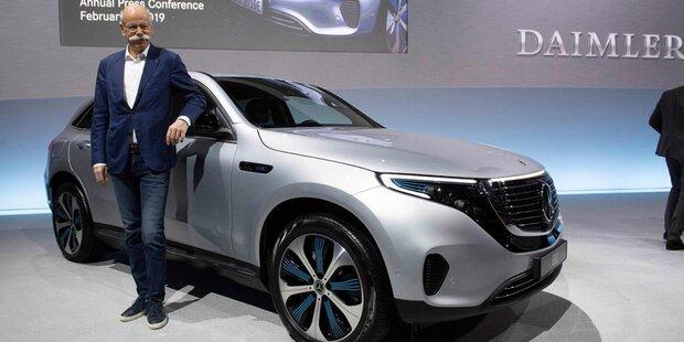 Daimler könnte mit Tesla E-Fahrzeuge bauen