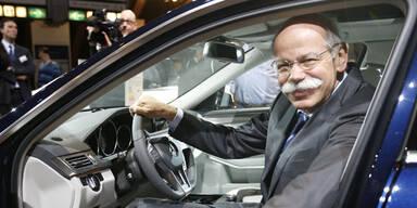 Daimler hat keine Angst vor Tesla & Google
