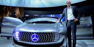 Zukunfts-Mercedes geht in Serie