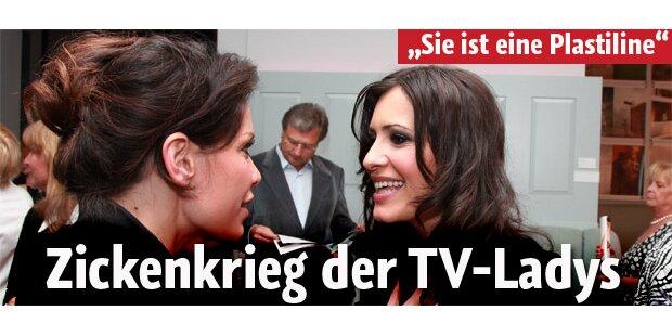Zicken-Krieg der TV-Ladys