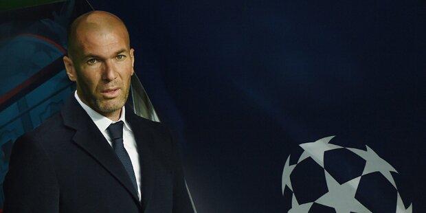 Hammer-Gerücht um Zidane-Comeback