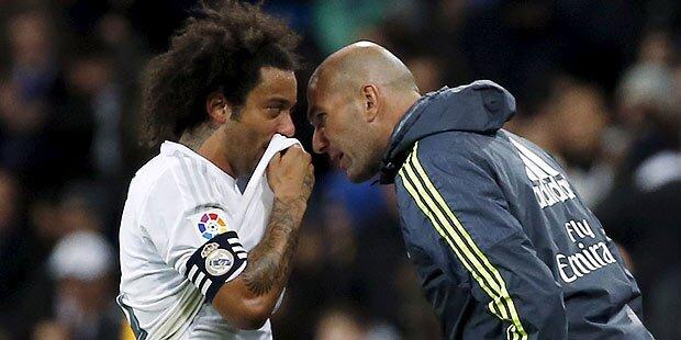 Zidane-Debüt: Real feiert Schützenfest