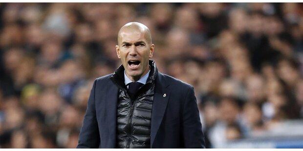 Abschied? Zidane mit pikanter Aussage